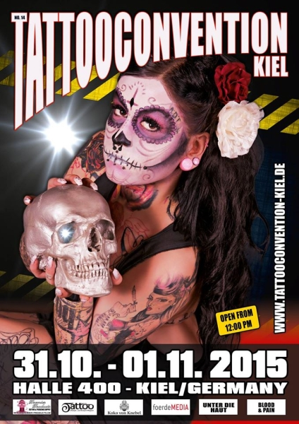 Tattooconvention Kiel 2015